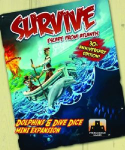Survive : Escape from Atlantis! - Dolphins and Dive Mini Expansion